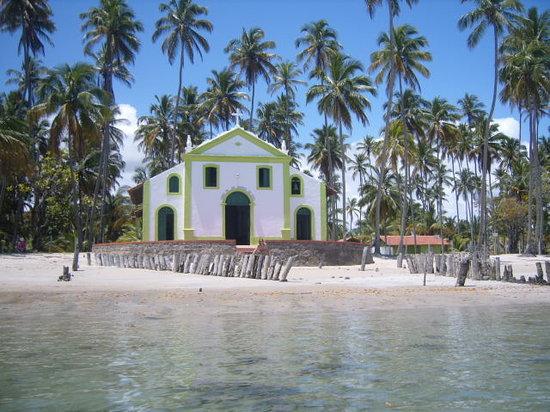 Praia dos Carneiros, PE: Capela de São Benedito