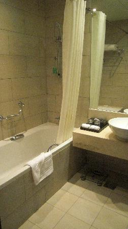 Ramada Downtown Abu Dhabi: SDB Twin room