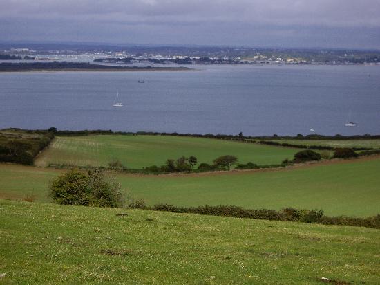 Danecourt Lodge: View towards Poole