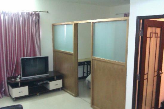 Siyecao Jinsheng Apartment Hotel: la seconde chambre...