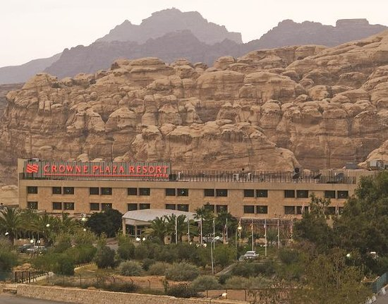 Crowne Plaza Resort Petra: With the best location in Red Rose City