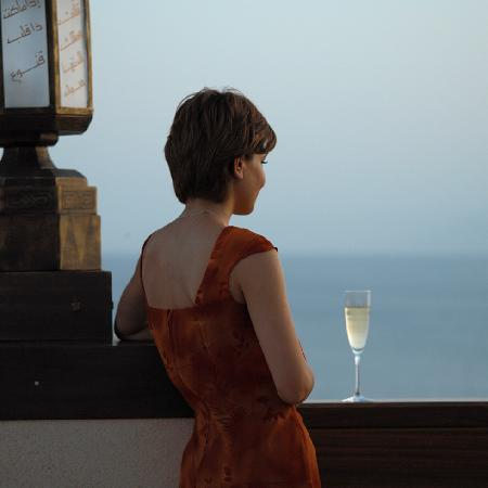 InterContinental Aqaba Resort : Relax with a drink & enjoy infinity
