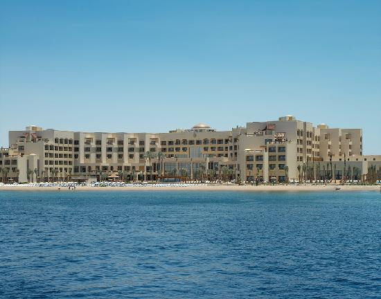 InterContinental Aqaba Resort: View from the Red Sea