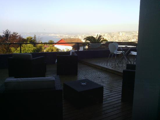 Ultramar Hotel: terrasse