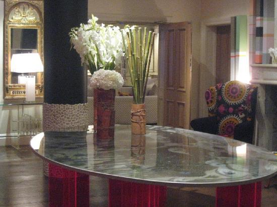 The Soho Hotel: Lobby