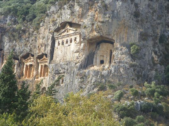 Sahin, Apartments: Caunos Tombs Dalyan riverside