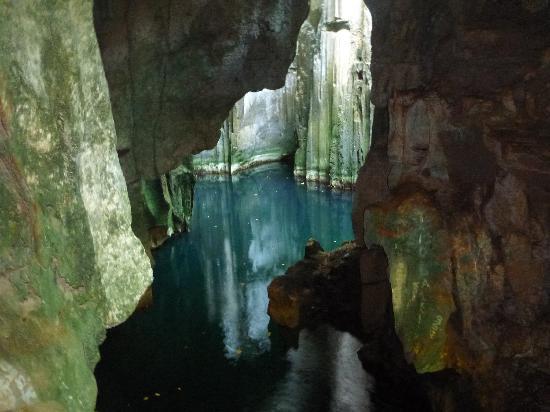 Yasawa Islands, Fiji: First cave