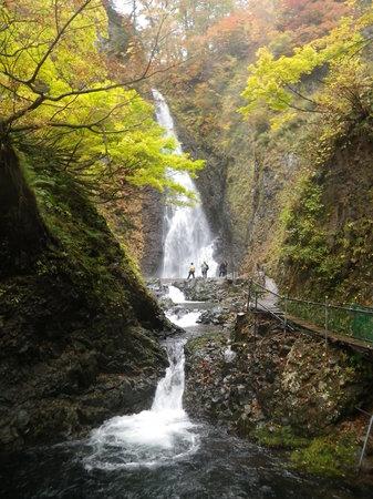 Nishimeya-mura, Japonya: 3つある暗門の滝のゴールです