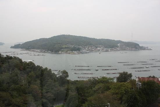Hotel Maritime Kaikoen Kifuka: 宿の窓からのオーシャンビュー。