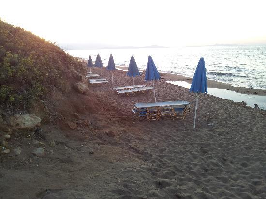 Hotel Rethymnon Mare: Stranden