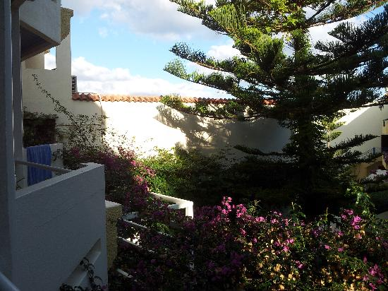 Hotel Rethymnon Mare: Vy från balkong