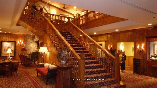 The Wort Hotel: l'escalier