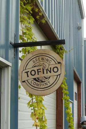 Tofino Brewing Company : Sign at the entrance
