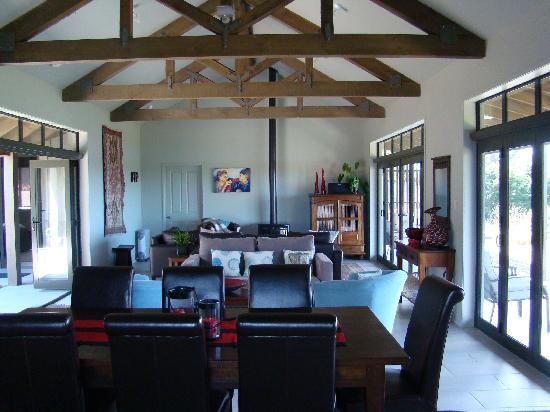 Poets Corner Lodge: salle commune
