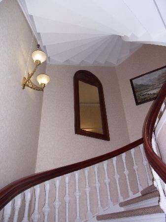 Steens Hotel: 階段