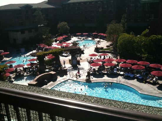 Disney's Grand Californian Hotel & Spa: balcony