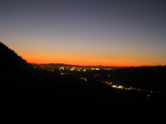 Il Torrino di Sotto B&B: Sunset over Firenze