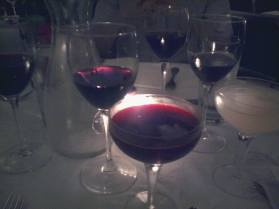 Baltic Restaurant & Bar : Beetroot Martini (and wine with dinner)