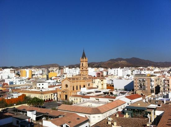 Salles Hotel Malaga Centro: our view from room 517