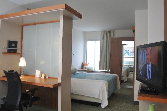 SpringHill Suites McAllen: King suite