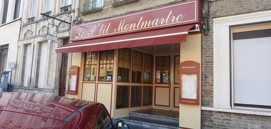 Le P'tit Montmartre : The restaurant from outside
