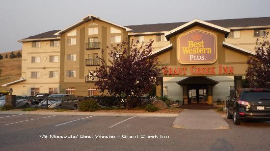 Best Western Plus Grant Creek Inn : façade de l'hôtel