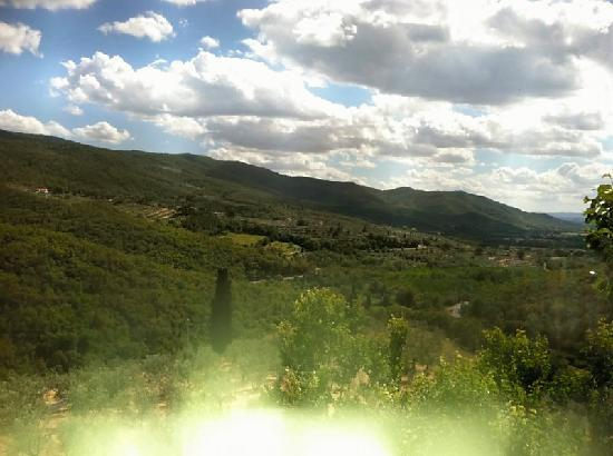 Relais San Pietro in Polvano: view from room
