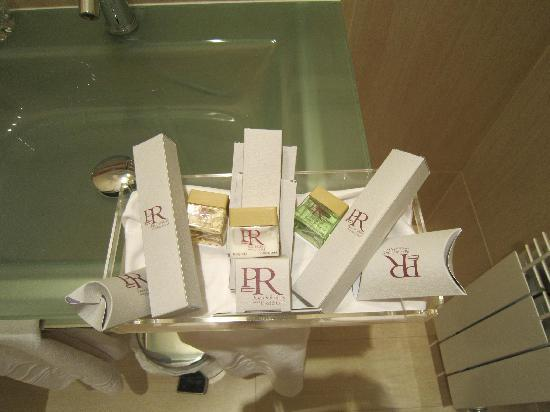 Palacio de Rubianes Hotel & Golf: Bathroom amenities