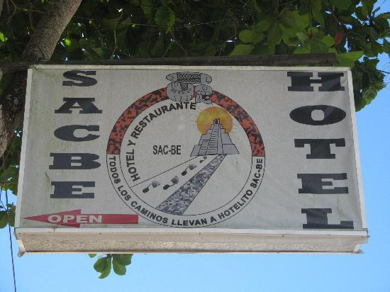 Hotel Sac-Be : Hotel Sacbe is 1.5 km from the Coba ruins, on the main road from the coast.