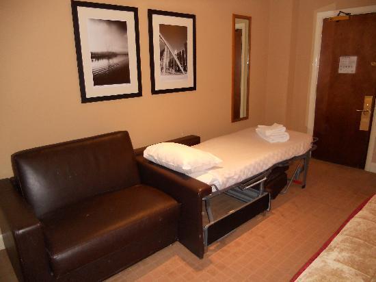 Brilliant Sleeper Sofa In The Family Room Picture Of Radisson Blu Machost Co Dining Chair Design Ideas Machostcouk