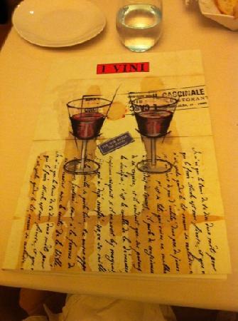 Albergo Ristorante Il Cascinalenuovo: best wine list ever!