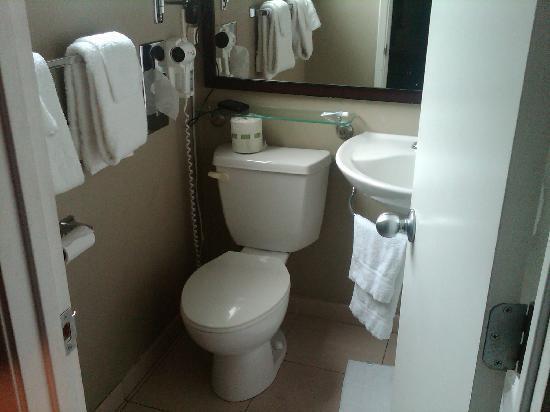 Vagabond Inn - San Diego Airport Marina: Nice Bathroom