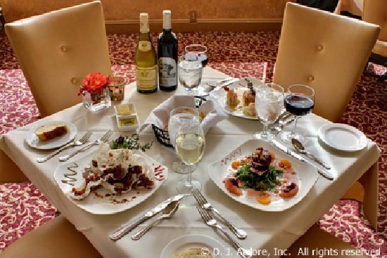 Paris Inn Table Setting & Table Setting - Picture of Paris Inn Wayne - TripAdvisor