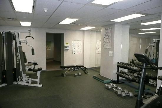 The Electra Suites: fitness room
