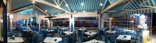 Ambrosia Restaurant - Pizzeria: A panoramic view at night
