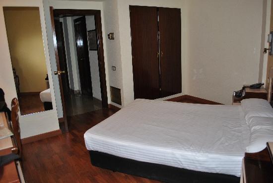 Hotel Zaragoza Royal: Habitación