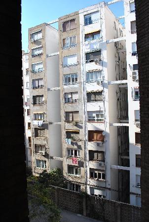 Hotel Zaragoza Royal: Vistas desde la habitación