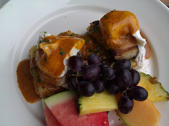 Solace & The Moonlight Lounge: Pork Belly Benedict