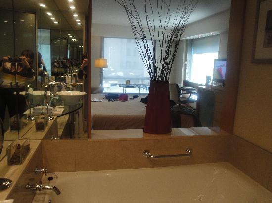 Melia Buenos Aires: vista desde el baño a la habitación