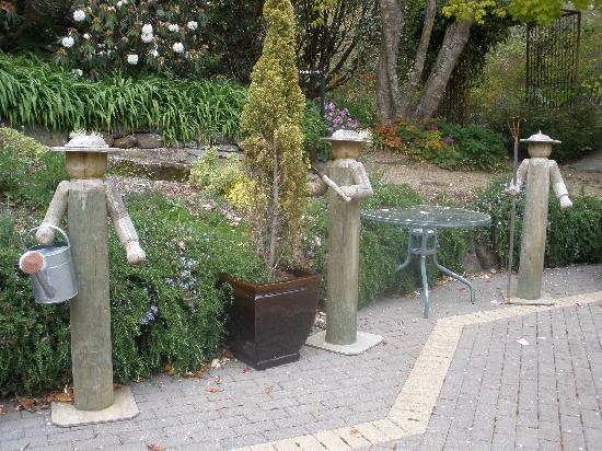 Glenfalloch Woodland Gardens: Charming herb garden