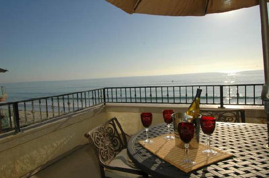 Ocean Villas: Patio view