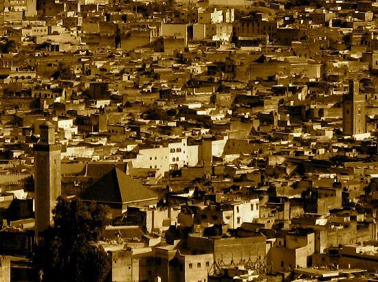 Riad Tizwa Fes: View of Fez