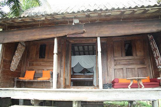 Bambu Indah: our house - kuno house