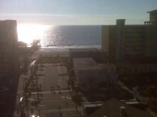 Aqua Beach Inn: view from balcony