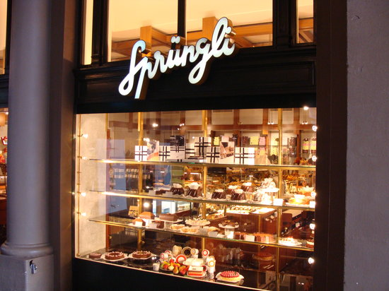 Zurich, Switzerland: Sprungli