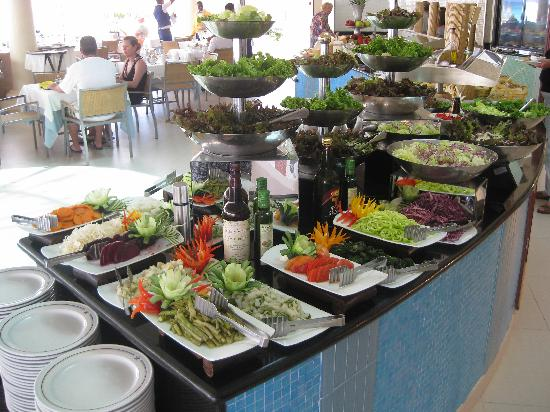 Iberostar Grand Hotel Bavaro: Lunch buffet