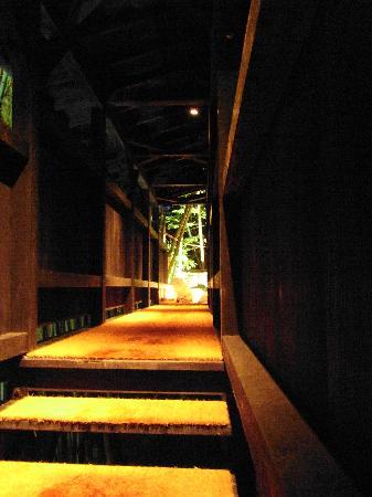 Takefue : 廊下の先には