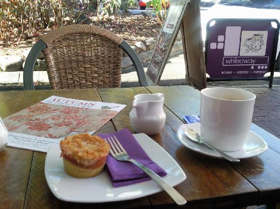 Whileaway Bookshop & Cafe: Whileaway with books too!