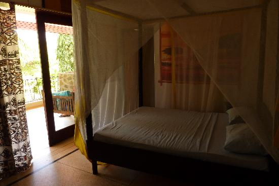 Hotel African Pearl: Room #5, main hotel