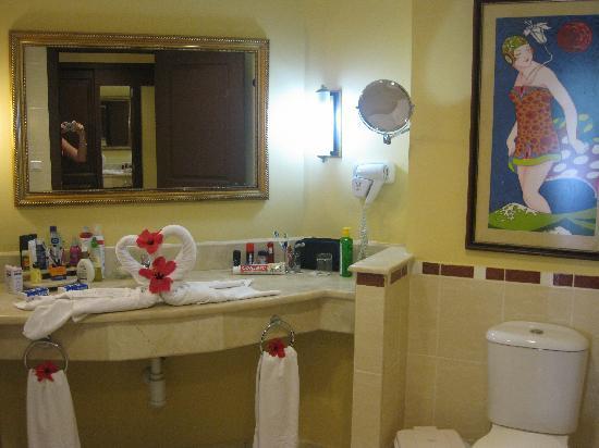 IBEROSTAR Laguna Azul: Bathroom